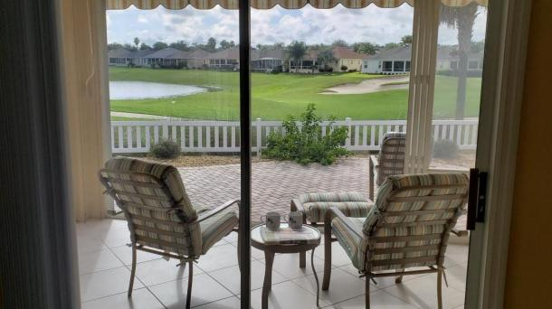 ID#1191 - Golf and water View Courtyard Villa in Largo